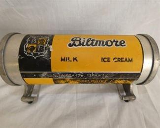 26X19 BILTMORE ICE CREAM STRAW DISP.