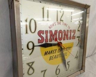 VIEW 3 SIDE VEIW SIMONIZ CLOCK