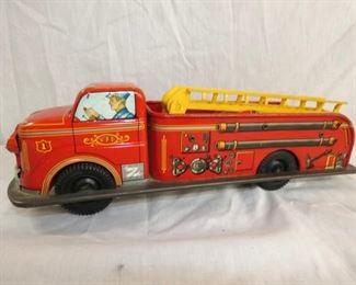 14X5 MARX BATTERY OP FIRE TRUCK