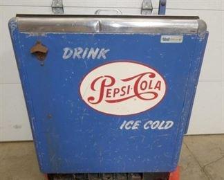 34X38 IDEAL PEPSI DRINK BOX