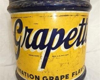 10G. GRAPETTE SRYUP CAN