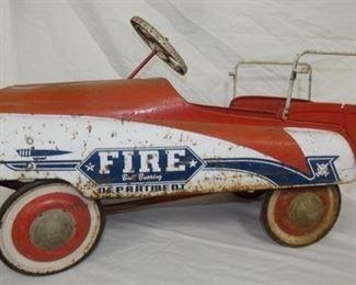 MURRAY FIRE DEPARTMENT PEDAL CAR