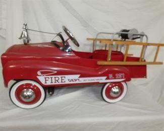 REPLICA FIRE DEPT. NO. 287 PEDAL CAR