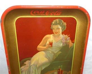 VIEW 3 TOP VIEW 1936 COKE TRAY