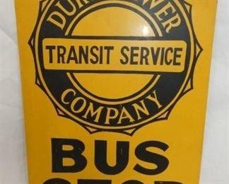 12X18 TRANSIT BUS STOP SIGN