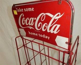 VIEW 4 BACKVIEW COKE CRATE MARQUEE SIGN