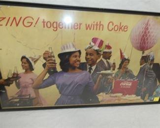 VIEW 2 BLACK AMERICANA COKE CARDBOARD