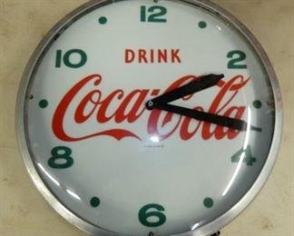 22IN. COCA-COLA CLOCK