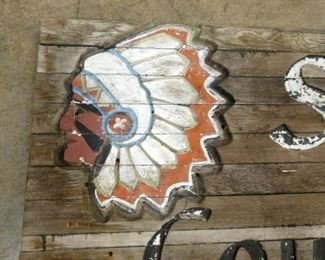VIEW 3 CLOSE UP INDIAN CHIEF