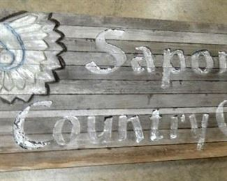 VIEW 6 8FTX4FT. SAPONA SIGN