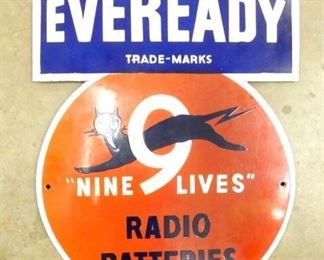 17X24 PORC. EVERYREADY RADIO BATTERIES