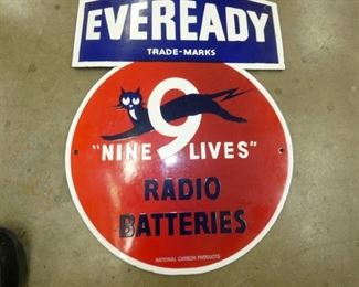 VIEW 2 CLOSE UP EVEREADY SIGN