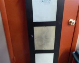 Curio Cabinet with Photo Frame Front