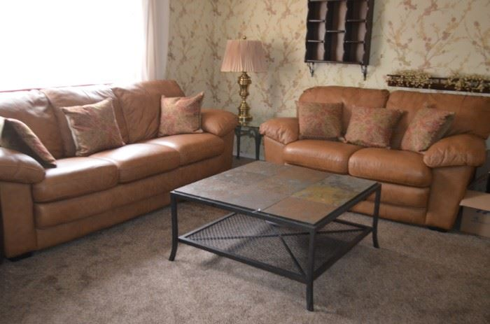 leather Sofa and Love-Seat ONLY