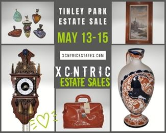 Xcntric Estate Sales Tinley Park May 13-15, 2021