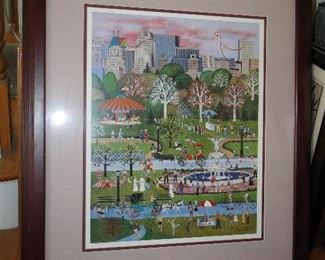 Wooster Scott art signed and numbered