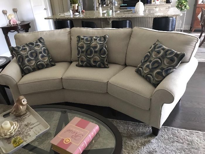 Flexsteel Conversation Sofa