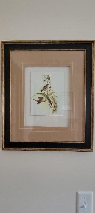 Bird print 2 0f 2 $15