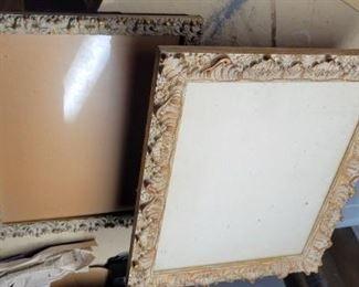 Antique wood frames $40