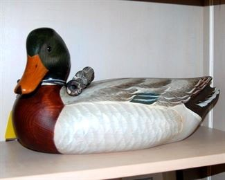 We have a number of Ducks Unlimited Commemorative Decoys by well known decoy artists
