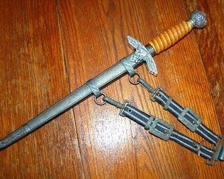 WW2 German Nazi Luftwaffe Dagger with Hanger!