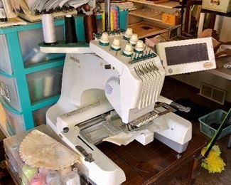 BabyLock EMP6 professional embroidery machine!