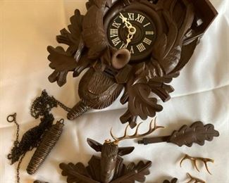 Bachmaler and Klemmer Cuckoo Clock