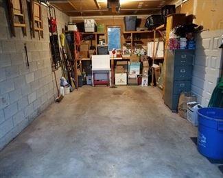 Garage stuffs, tools, etc