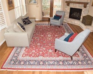 "Persian Mahal Handmade Rug 178"" x 122"""