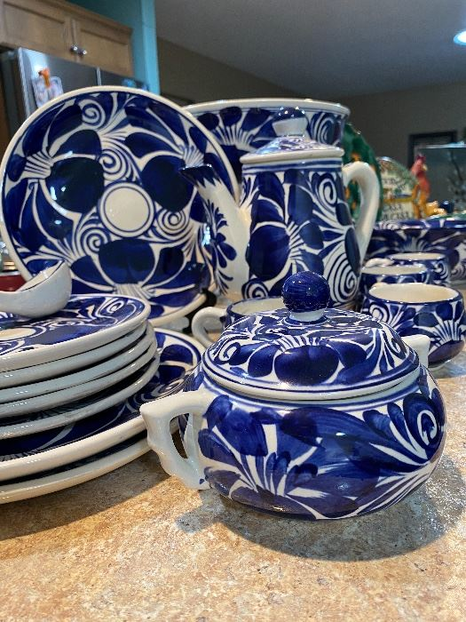 Authentic Mexican pottery Talavera .. Dolores Hidalgo