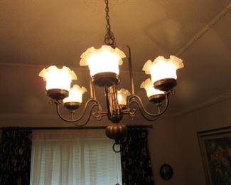 Unusual Dining Room Chandelier