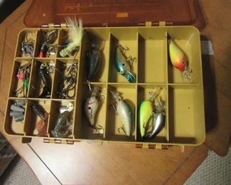 Loads of lures (6 boxes with lures and bait)