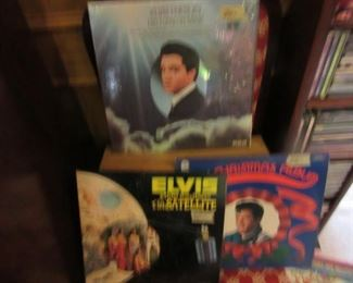 Elvis LP's in Jackets