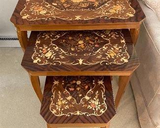 Nesting Music Box Tables
