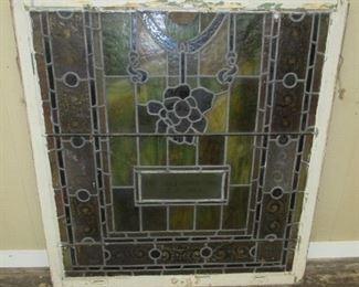 """44"""" x 47"""" Stain Glass Window"""