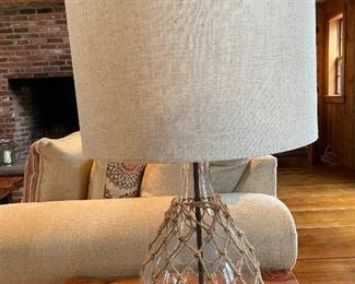 "Item 39:  (2) Nautical Accent Table Lamps - 27"":   $38 each"