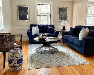 Beautiful home in Dedham is filled with gorgeous, fresh, contemporary furnishings that have NEVER been sat on, used, in any way!