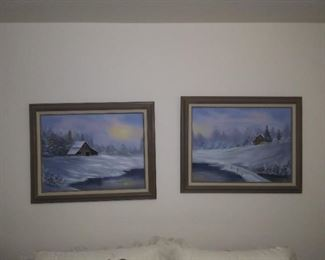 Matching paintings