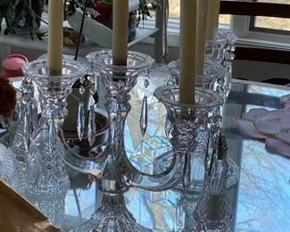 Gorgeous Crystal Candleabra