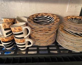 Zebra dishes
