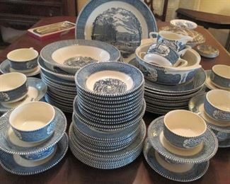 Currier & Ives By Royal China