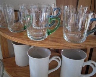 Glass Mugs...Ceramic Mugs..