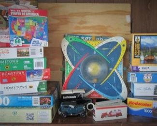 Puzzles, Games...