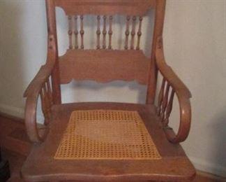 Oak Side Chair