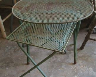 Iron Outdoor Tables