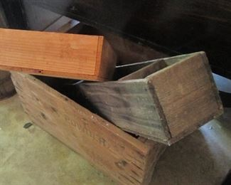 Vintage Wooden Boxes...