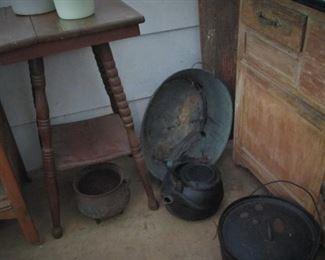 Cast Iron..Antique Table...