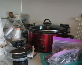 Kitchen... Crock Pot...Waffle Iron...