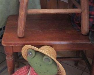 Vintage Stools..Frog...