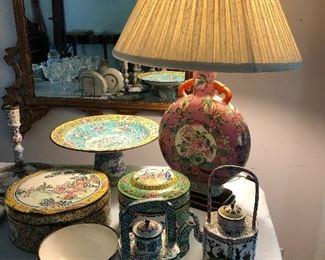Cloisonne treasures.....